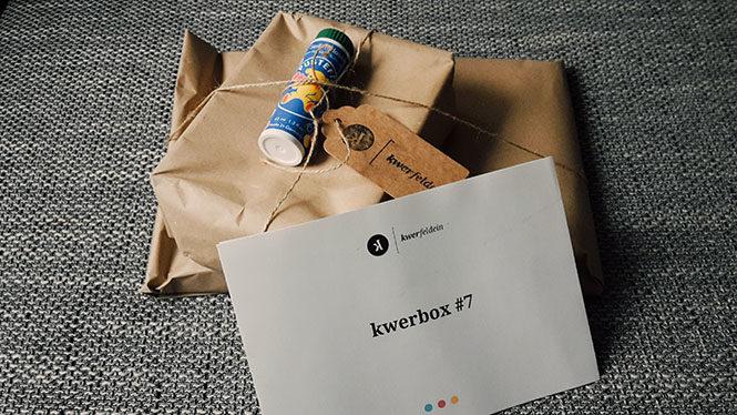 Unboxing kwerbox 7 kwerfeldein