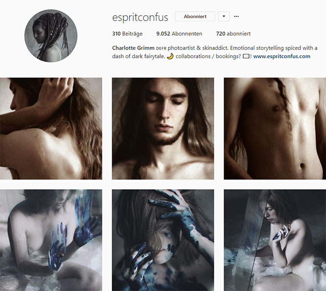 Fundstücke 1 inspirierende Instagram-Accounts Charlotte Grimm Esprit Confus