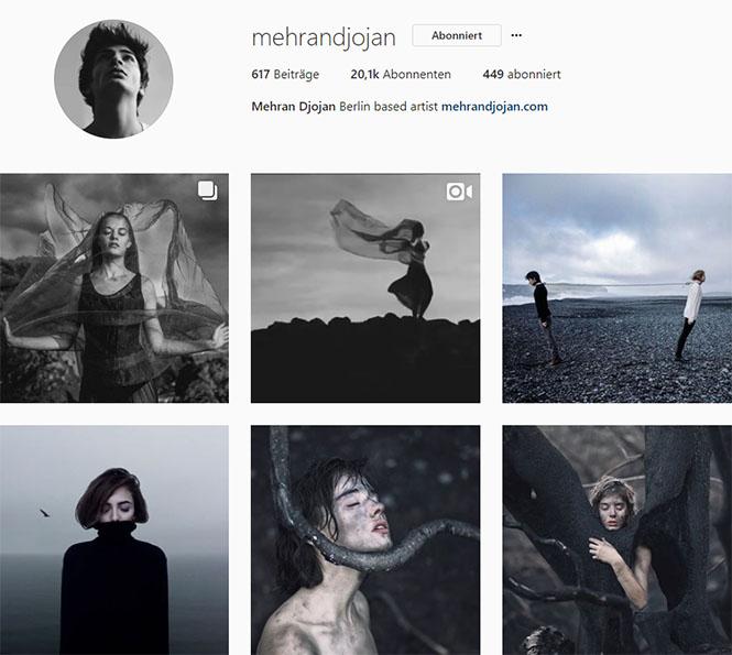 Fundstücke 1 inspirierende Instagram-Accounts Mehran Djojan