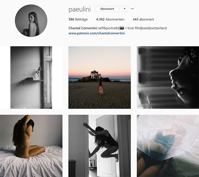 Fundstücke 1 inspirierende Instagram-Accounts Chantal Convertini