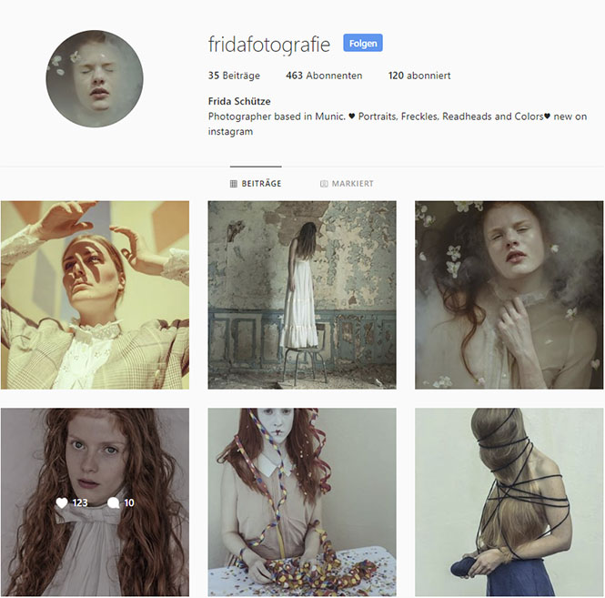fridafotografie, inspirierende Instagram-Accounts