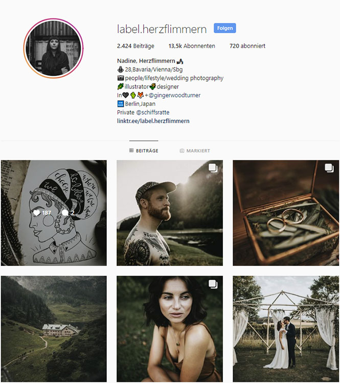 Herzflimmern, inspirierende Instagram-Accounts