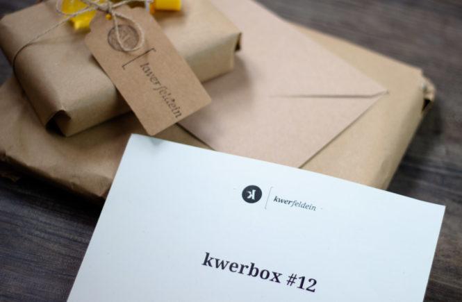 Unboxing kwerbox 12